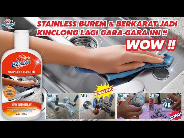 EZ Clean untuk Pembersih Kerak di Stainless terampuh tanpa HCl