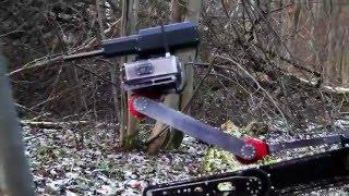 بالفيديو| روسيا تطلق روبوتا قتاليا يمكن وضعه في حقيبة ظهر
