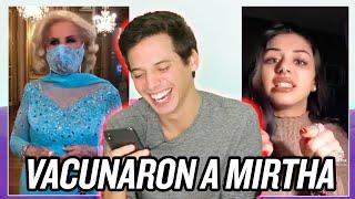 LA VACUNARON A MIRTHA EN SU CUMPLEAÑOS Y MEMES - Pablo Agustín