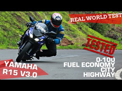 Yamaha YZF-R15 version 3.0 | 0-100, Performance, City, Highway - TESTED! | ZigWheels.com