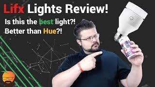 Review: Lifx Smart A19 LED Color Bulb! Best Smart light out there?!