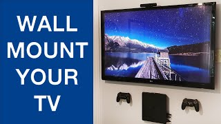 How To Wall Mount Your Gaming TV To A Wall Safe & Simple Steps