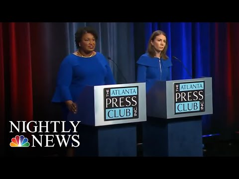 Georgia Dems Choosing Between Two Female Gubernatorial Candidates Named Stacey | NBC Nightly News
