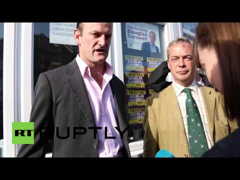 UK: Farage joins Tory defector Carswell in Clacton-on-Sea