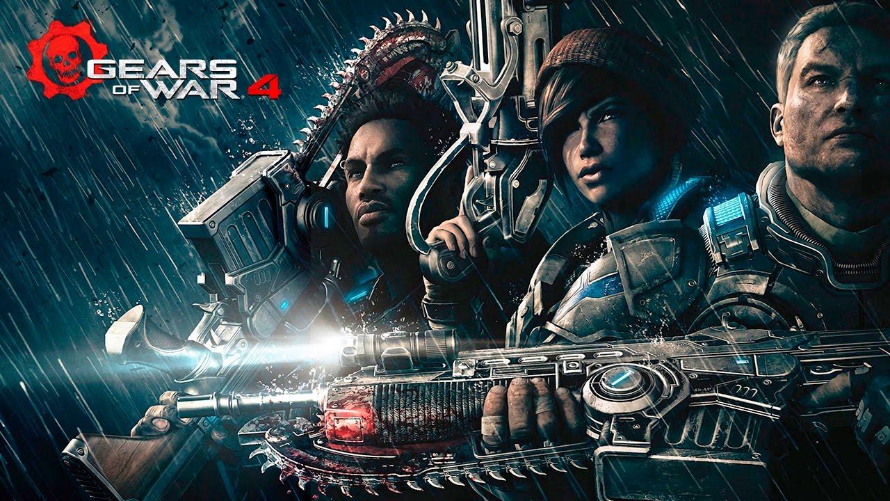 Gears of War 4 Pelicula Completa Español Latino | Todas las Cinematicas Historia 60fps Game Movie