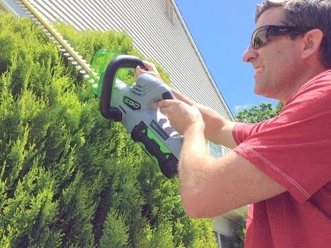 Ego 56v Cordless Hedge Trimmer Ht2400 Ht2401 Doovi