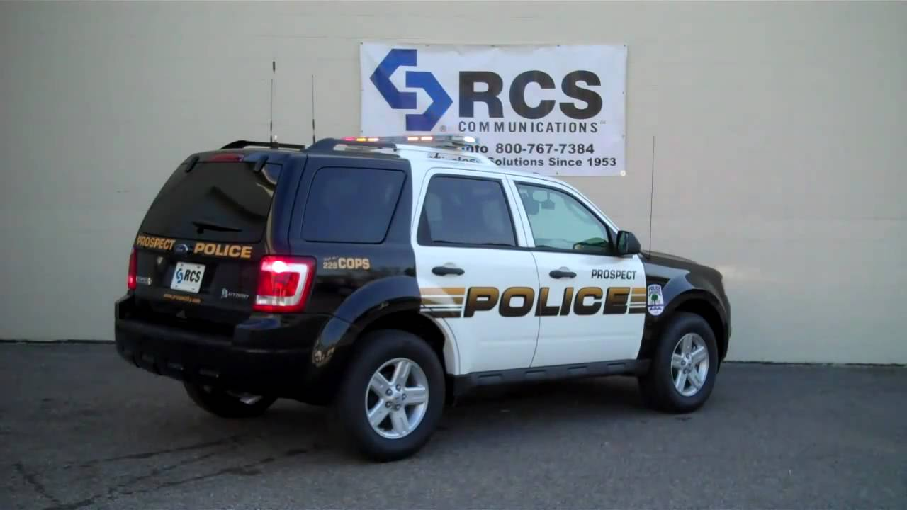 Police Ford Escape Hybrid 2011 Prospect Police