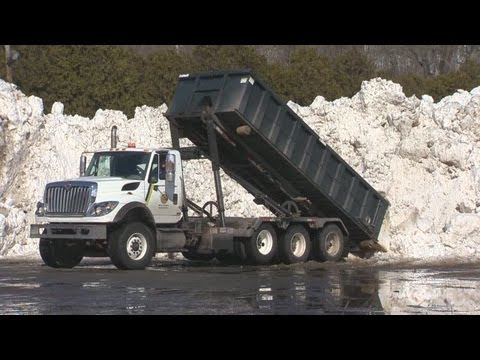 State makes exception for dumping snow