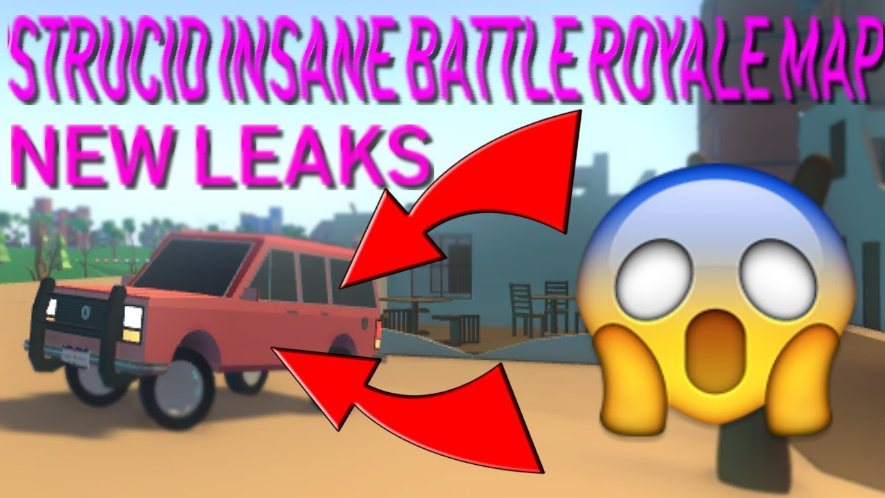 STRUCID BATTLE ROYALE LEAKED MAP😱ADDING CARS?🔥 - YouTube