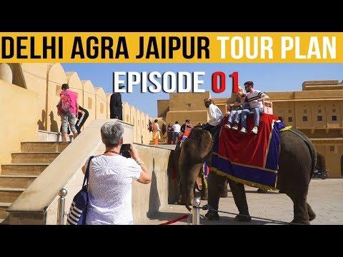 Golden Triangle Tour India | Delhi Agra Jaipur Tour | Delhi Tour Guide Episode-1