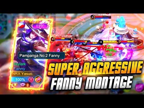 SUPER AGGRESSIVE FANNY MONTAGE BY YASUO | MLBB