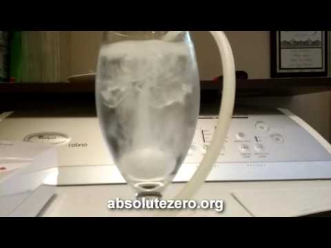 Drinking Ozonated Water