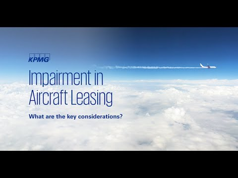 KPMG: Impairment considerations in aircraft leasing