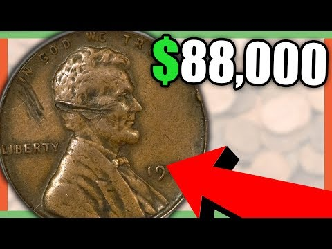 10 SUPER RARE PENNIES WORTH MONEY  LINCOLN PENNY COINS TO LOOK FOR!!