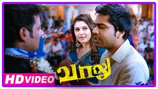 Vaalu Tamil Movie | Scenes | Simbu Tries To Impress Hansika At Her Friend's Marriage | Santhanam