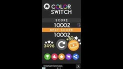 color switch game hack world record 2016