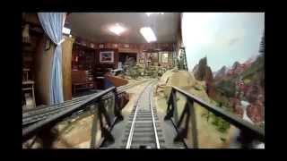 The Rebuilt & Rag-Tag S-Scale Model Railroad: Scenes & Cab Ride.