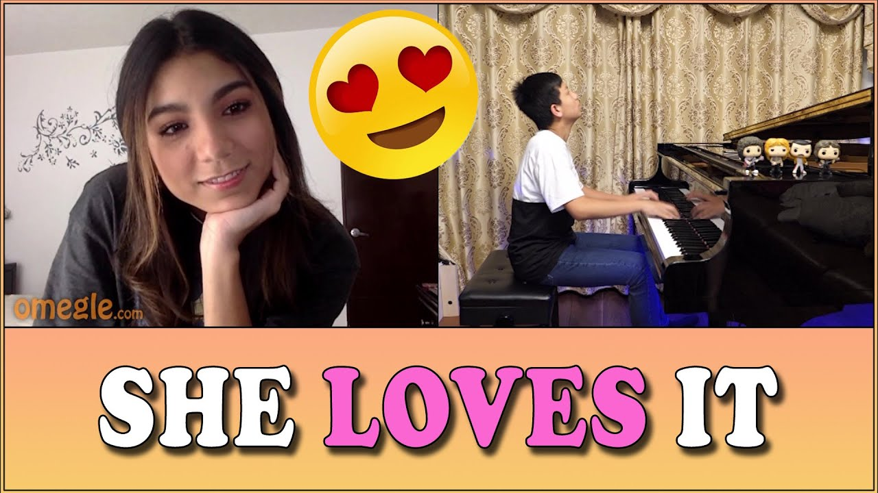 How to Make Girls and Stoners Happy on Omegle - Play piano by ear | Cole Lam