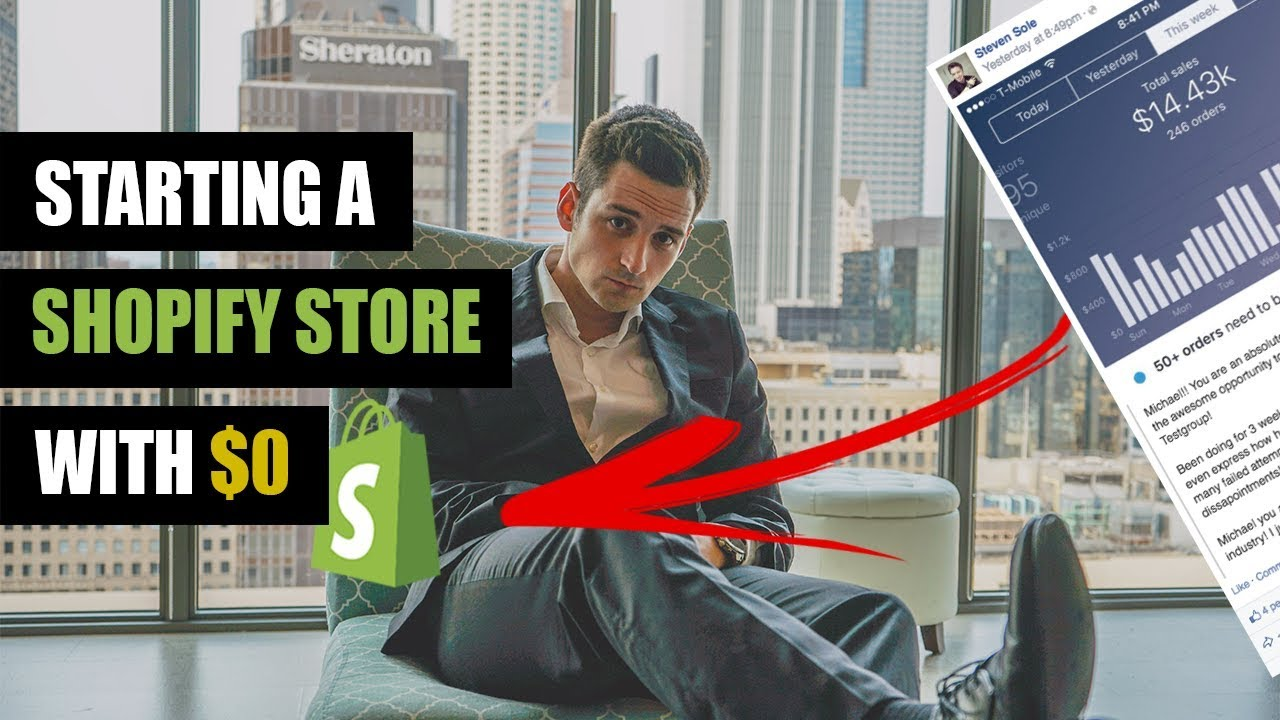 How To Start A Shopify Store With No Money - Starting Shopify from $0