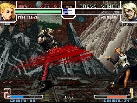 [TAS] The King Of Fighters 2002 - Mature SinglePlay |