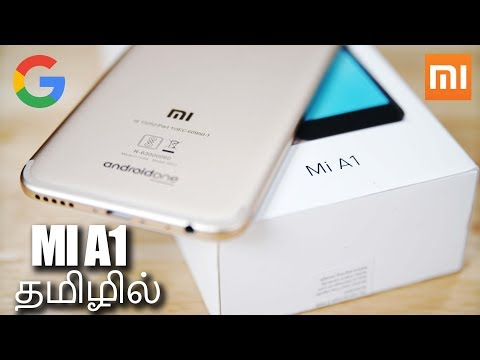 Xiaomi Mi A1 (Dual Camera   Android One) - Unboxing & Benchmarks! (தமிழ்  Tamil)