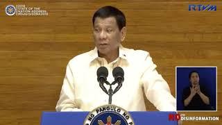 SONA 2018: Duterte urges speedy passage of the Universal Health Care Bill