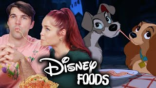 Disney Movie Foods IN REAL LIFE! (Cheat Day)