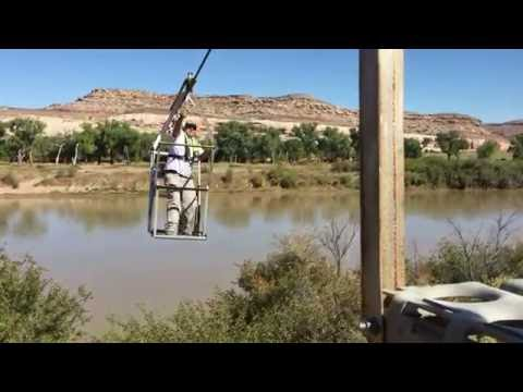 Colorado River cable up