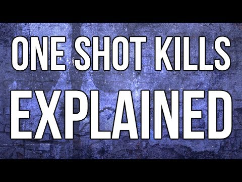 Ghosts In Depth - One Shot Kills Explained! Why Do I Die So Fast In Ghosts?