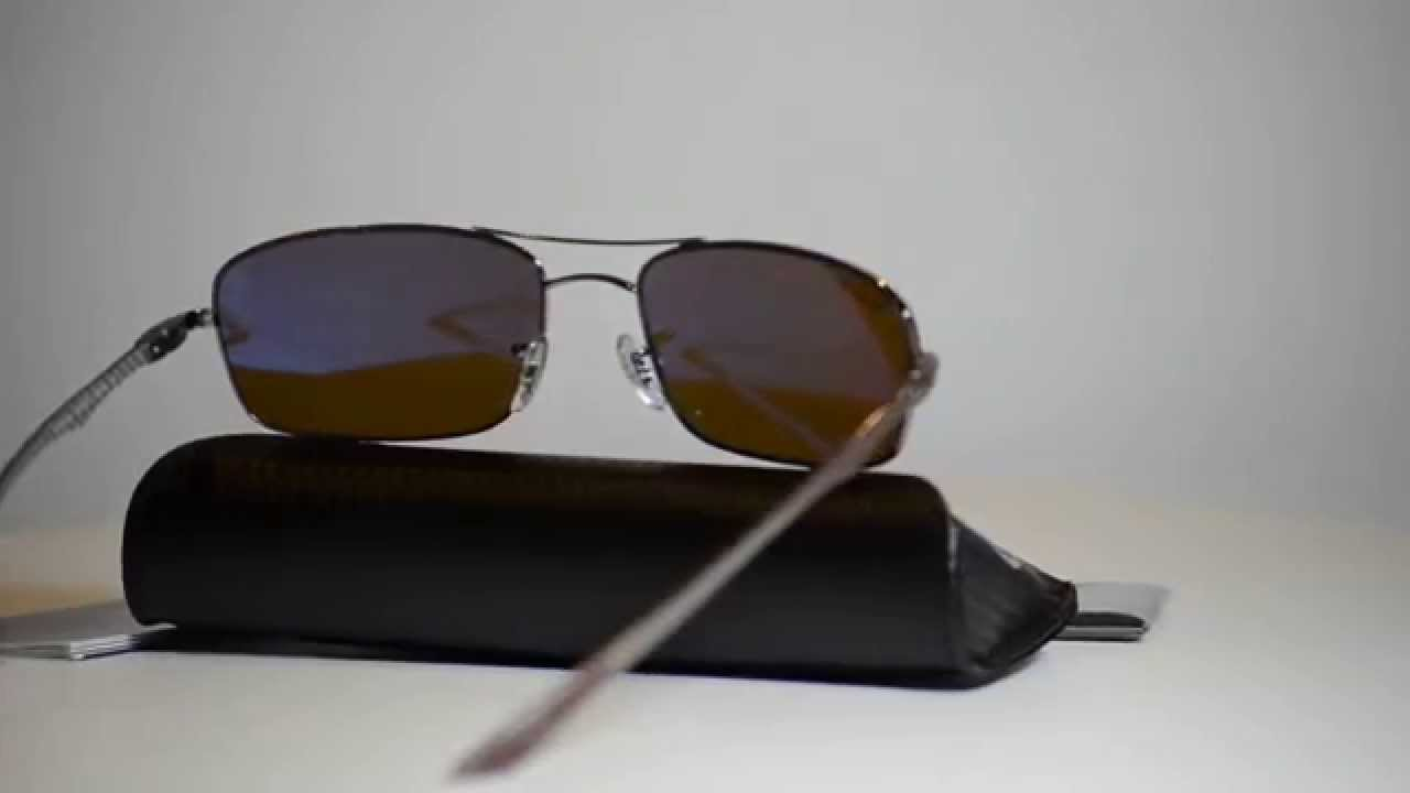 60aec139f1 Authentic Ray Ban Carbon Fibre Polarized Sunglasses RB 8310 004 83 RB8307 -  YouTube