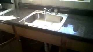 Replace Kitchen Counter Cabinet & Sink Faucet