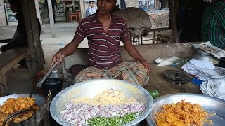 Speechless (Buba) Man working Hard How to Making Crispy Onion fritters /Onion Pakoda how to Selling