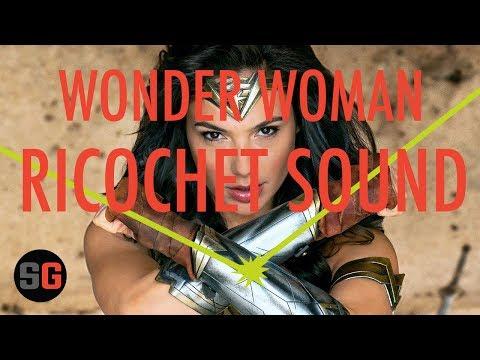 Wonder Woman's Ricochet Sound with a Slingshot
