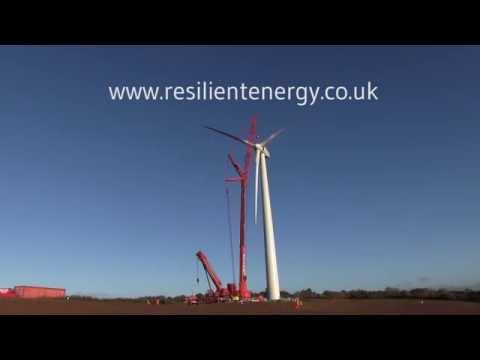 Resilient Energy Alvington Court Community Wind Turbine