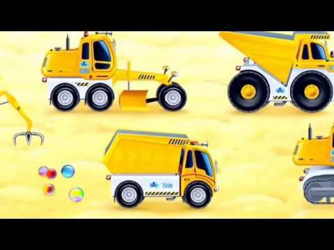 Про строительные машинки мультфильм