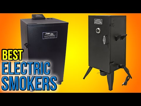 10 Best Electric Smokers 2016