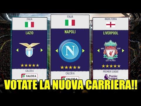 SCEGLIETE LA SQUADRA PER LA NUOVA CARRIERA ALLENATORE SU FIFA 18!!! By GIuse360
