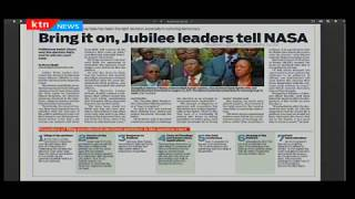 Video Bring it on, Jubilee leaders tell NASA download MP3, 3GP, MP4, WEBM, AVI, FLV Agustus 2017