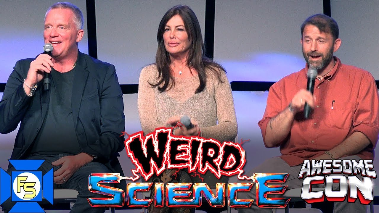 WEIRD SCIENCE Reunion Panel - Awesome Con 2019 - YouTube