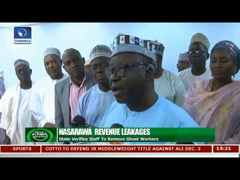 Nasarawa State Verifies Staff To Remove Ghost Workers | News Across Nigeria |