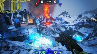 Unreal Tournament 4 【Elemental Demo CTF】 i7 4770K GTX 780Ti 【1080p 60Fps】
