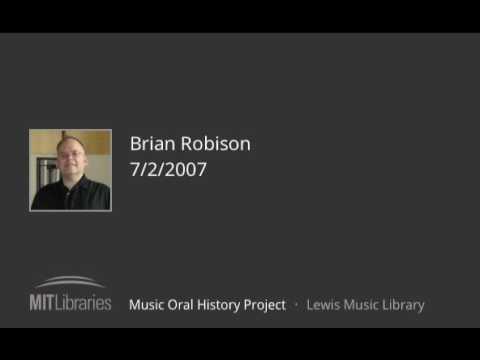 Brian Robison interview, 7/2/2007