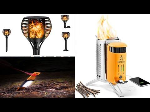 amazing gadgets for outdoors or hiking or camping//solar gadget // emergency gadget