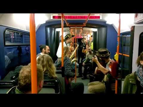 Bratislava crazy tram