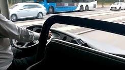 Vainion Liikenne Mannerheimintien iltapäiväruuhkassa (cropped)