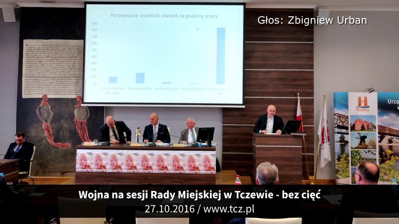 Tczew. Wojna na sesji Rady Miejskiej w Tczewie – bez cięć i komentarza