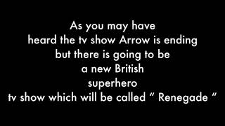 New British superhero TV show once arrow ends