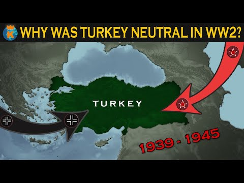 Why was Turkey Neutral in WW2?