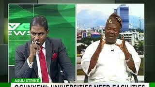 Why we are on an indefimite strike - ASUU President, Abiodun Ogunyemi