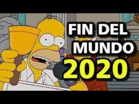 LOS SIMPSON PREDICEN EL FIN DEL MUNDO PARA 2020